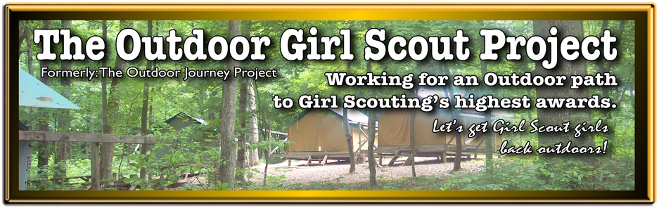 The Outdoor Girl Scout Project header II